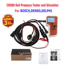 CR508 Diesel Common Rail Pressure Tester and Simulator For Bosch Delphi Denso Sensor Test Tool Diagnostic Tools High-Pressure