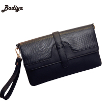 Envelope Women's Messenger Cross Body Bag Fashion Shoulder Diagonal Magnetic Button Handbag Ladies Bags With Belt