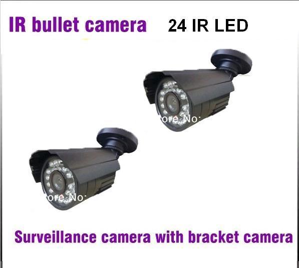 CCTV Camera 420TVL 700TVL 1/3 CMOS 24Pcs LED Security Camera IR Night Vision Video Surveillance Camera Outdoor with Bracket<br>