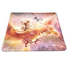 Novelty Large Gaming Mice Pad The Legendary World Style Mousepad Anti-slip Desk Mouse Mat DIY Overlock Precision Mousemat(China)