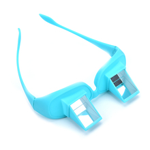 Creative Lazy Creative Periscope Horizontal Reading TV Sit View Glasses On Bed Lie Down Bed Prism Spectacles The Lazy Glasses(China)
