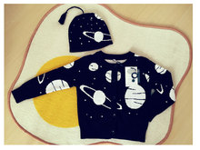 Koolabah 2016 star black and white  Boys Girl Clothing Knitted Children Sweater Kids cardigan Cothes Cotton  Yebaby store