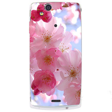 Luxury Painting Coque Cover For Sony Ericsson X12 LT15i Xperia Arc S LT18i Drawing Phone Shell Back cover Thin Protector Case(China)