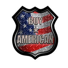 3D Car stying Buy American Decal Sticker Buy America Flag Road Sign Truck Car  Car Sticker Cool graphics Jdm