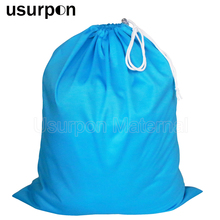 [usurpon]1 pc Big size 50*60cm drawstring bag and waterproof travel wet bag single pocket pail liner bag wholesale(China)