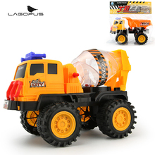 Lagopus Large Engineering Vehicles Excavator Trucks Cement Mixer Car Action Children Toy Cars for Toddlers Kids Best Gifts(China)