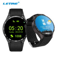 Letine Kingwear KW88 Smart Watches 3G Women Men's Android Wrist Watch Clock Cell Phone with Sim Card Camera Function PK KW18 H1