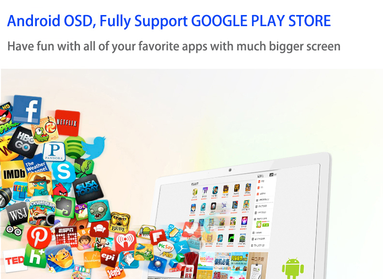 Fully support google play store