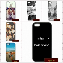 Happy Best Friend Card BFF Cover case for iphone 4 4s 5 5s 5c 6 6s plus samsung galaxy S3 S4 mini S5 S6 Note 2 3 4 F0155(China)