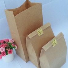 10 Pcs Kraft Paper Bags Wedding Party Favor Treat Candy Buffet Bag/Envelope Gift Wrap(China)