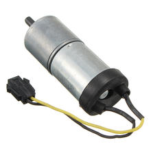 New 1 PCS DC 12V Motor Micro Full Metal Speed Reduction Gear Motor 92RPM with Pull Wheel