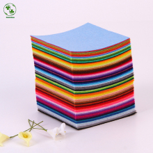 88 Colors/Lot Diy Non-Woven Felt Fabric,Cloth Felts,Feltro Polyester Acrylic Nonwoven Fabrics 10 X 10CM(China)
