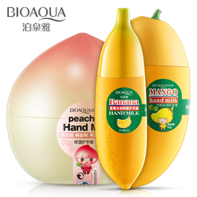 Bioaqua Hand Cream Ageless Nourishing Peach Banana Mango Korean Hand Cream