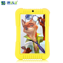 "iRULU Origina lY3 7"" Babypad 1280*800 IPS A33 Quad Core Android 5.1 Tablet PC 1G/16G With Silicone Case iRULU Kids Tablet"
