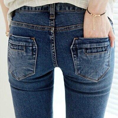 2015 spring and autumn female stretch jeans pants spring tide Slim sell like hot cakes Discount promotion Fashion sexy jeansÎäåæäà è àêñåññóàðû<br><br>