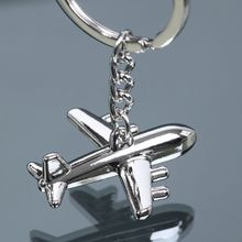 New arrival alloy American Airlines aircraft key chain fashion keyring Unique plane key chain for Men Women Jewelry Gift