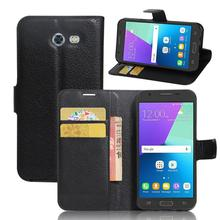 Luxury Wallet PU Leather Flip Cover For Samsung Galaxy J3 2017 J320 Case Stand Card fundas For Galaxy J3 Emerg Mobile Phone Bags