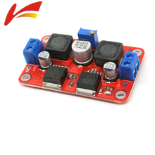 LM2577S + LM2596S DC-DC Converter Auto Step-Up Step-Down Solar Power Supply Module - Red(China)