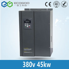 45KW 380V three phase to three phase AC sensorless vector inverter 400Hz VFD variable frequency drive