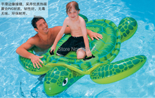 2014 new preschool children swimming turtles inflatable water toys animal mounts Baby inflatable swimming toys(China)