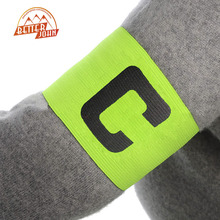 2016 New Football Basketball Soccer Sports C Words Flexible Adjustable Player Bands Badge Captain Armband 4 Color