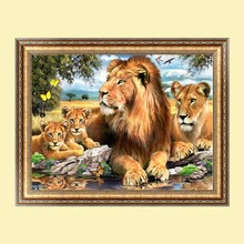 Lions Diamond Embroidery 5d Diamond DIY Painting Craft Home Deco