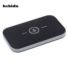 kebidu 2017 Hifi 2 in 1 Bluetooth 4.1 Audio Transmitter Receiver Wireless A2DP Bluetooth Audio Adapter Portable Audio Player Aux(China)