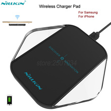 Nillkin Magic Cube Qi Wireless Charger Wireless Charging Pad For iphone 6 6s 7 7 plus For Samsung S6 S6 Edge S7 S7 Edge Note 5