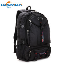 Chuwanglin Fashion Oxford Waterproof male backpack new casual travel bag anti-knock Business Laptop backpack school bag