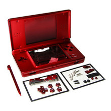 Red Full Repair Parts Replacement Housing Shell Case Kit Compatible for Nintendo DS Lite NDSL