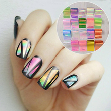 20Pcs/set Starry Sky Nail Foils Nail Art Transfer Sticker Decal Fashion DIY Nail Tips Decoration # 33861