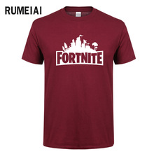 Buy 2018 Summer Fashion T Shirt Men Short Sleeve O-Neck Black Loose Tops Fortnite Print Letter Camisetas Fortnite T-Shirts Men for $5.53 in AliExpress store