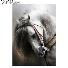 White Horse Mini Garden Flag House Flags Banner Painting Outdoor Indoor Decorative Fabric Painting Party Home House Decoration