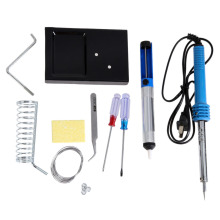 Buy 9 1 60W 220V Electronic Soldering Iron Insulated Soldering Stand Screwdriver Cleaning Sponge etc Welding Repair Tool Kit for $10.06 in AliExpress store