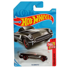 New Arrivals 2018 8b Hot Wheels 1:64 55 corvette Car Models Collection Kids Toys Vehicle For Children hot cars