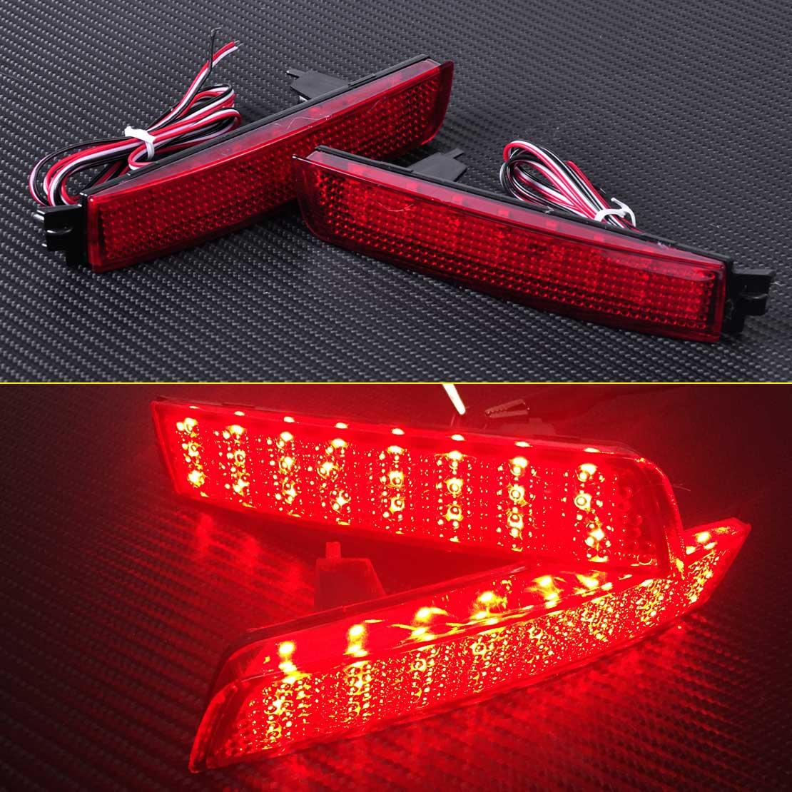 New Red Lens LED Bumper Reflector Rear Tail Brake Light 26565-5C000 Fit for Nissan Juke Quest Murano Sentra Infiniti FX35 FX37<br><br>Aliexpress