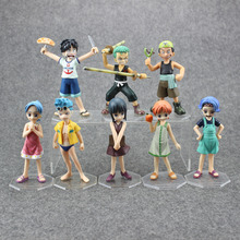 "One Piece Anime POP Beautifully boxed Childhood ver. PVC Action Figure Toys Boys Girls Christmas Birthday Gifts 4"" 10cm CSH16"