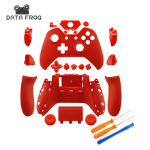 New Custom Matte Red Replacement Housing shell with buttons for Microsoft Xbox One 1 Wireless Controllersgaming accessories