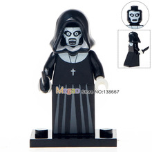 Singel Sale WM225 Nun Sinter The Horror Theme Movie Super Heroes Building Blocks Bricks Action Children Gift Toys Drop Shipping