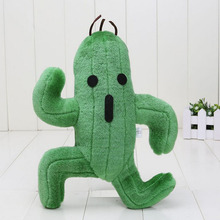 Final Fantasy Cactus Cactuar Plush Toy The Cactus Anime Peripheral Plush Toys Cactus Cactuar Stuffed Soft Dolls Free Shipping(China)
