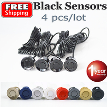 4 Pieces Sensors Parking Sensor 22mm Black / Red / Blue / Gold / Grey / Silver / Champagne Gold / White Color Car Reverse Probe