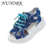 Buy New listing hot sales summer woman sandals canvas Walking shoes 1136# for $14.83 in AliExpress store