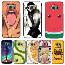 S4Mini Hard PC Cover For Samsung Galaxy S4Mini Cases Phone Shell Case Top Fashion Painted Sexy Tongue Charming Girl Meteor Bike