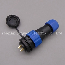 20mm SP20 2Pin 3Pin 4Pin 5Pin 6Pin 7Pin 9Pin 10Pin 12Pin 14P Waterproof Connector IP68 Electrical Wire Connector(China)
