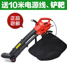 Outdoor Garden Leaf Blower & Vacuum - Powerful 3000 Watt with 10m cable variable speed(China)