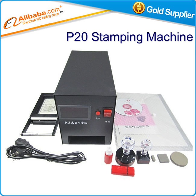 Hot selling LY-P20 Digital Temperature control flash stamp seal machine &amp; photosensitive seal machine,PSM machine<br><br>Aliexpress