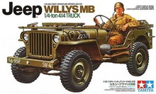 Tamiya Model Scale 1/35 35219 U.S. Jeep Willys MB Plastic Model Kit