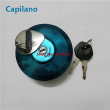 motorcycle scooter oil / gas tank cap fuel tank camp cover switch CBT125 for Honda 125cc CBT 125 electric spare parts(China)