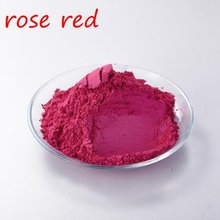 rose Red Pigment Pearl mica powder dye ceramic powder paint coating Automotive Coatings art crafts coloring for body painting