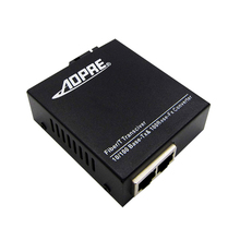 for IP Cameras 10/100Mbps 2ports Ethernet to fiber optic Media Converters, SC, Working distance 20Km(China)